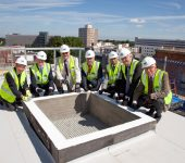 Clinical Research Centre topping out ceremony
