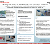 Laboratory skills training for clinical research nurses and research practitioners