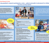 Giving paediatric research participants a voice – patient and public involvement for children