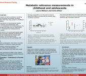 Metabolic reference measurements in childhood and adolescents
